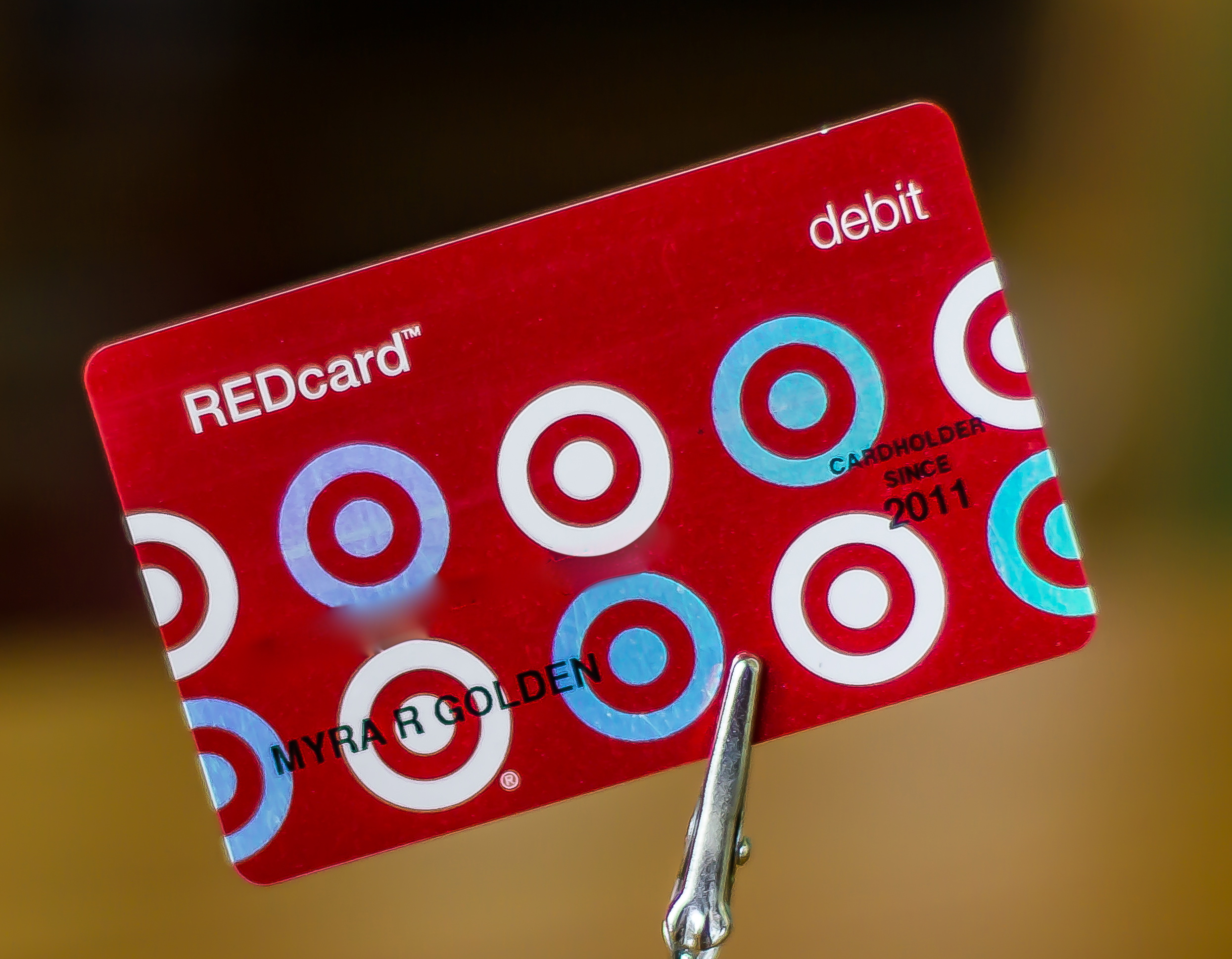 how to cancel target red card