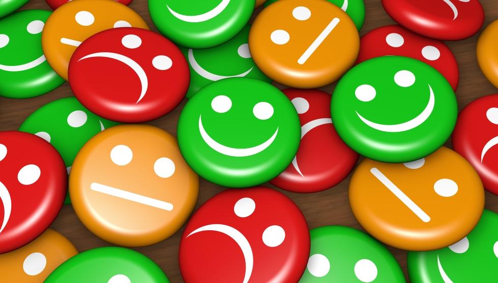 Customer Service Feedback Happy Rating